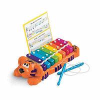 Музыкальная игрушка Тигр пианино-ксилофон 2 в1, фото 1