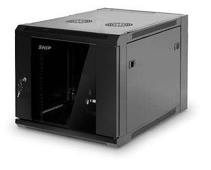 Шкаф настенный, SHIP, 5609.01.100, SE серия, 19'' 9U, 570*600*500 мм, Ш*Г*В, IP20, Чёрный