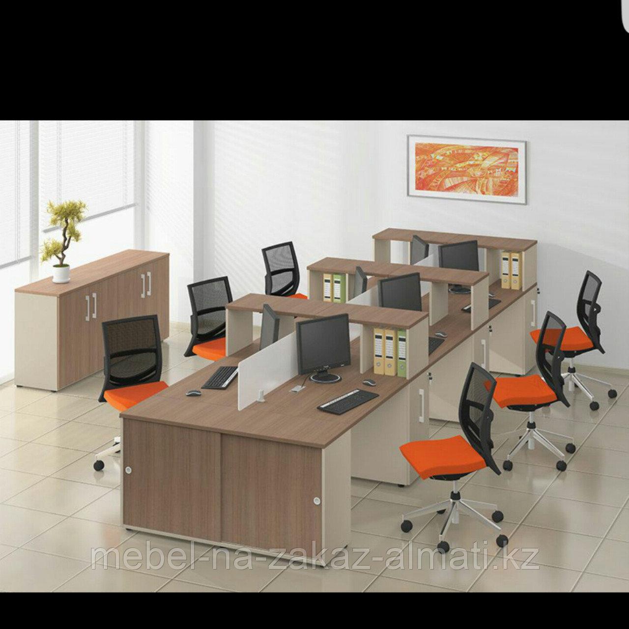 Комплект офисной мебели на заказ в Алматы