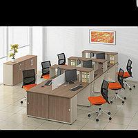 Комплект офисной мебели на заказ в Алматы, фото 1