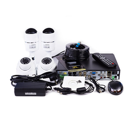 EAGLE Комплект AHD видеонаблюдения EGL-AS5004B-BVH-304, фото 2