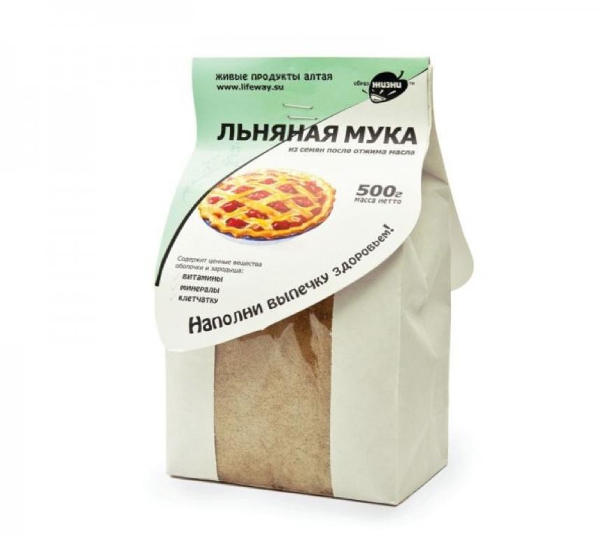 "Мука льняная  500 г ""Образ жизни Алтая"""