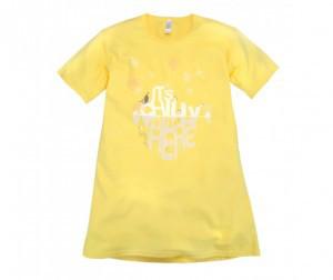 Сорочка ночная для девочек БоссаНова (желтый)