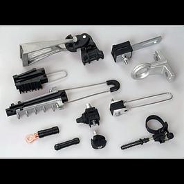 Линейно-подвесная арматура для СИП провода и ВОЛС