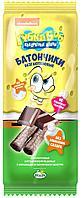 Губка Боб безглютеновые батончики амарантовые с шоколадной начинкой в глазури, витаминизированные, 20 г