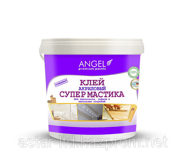 """Клей акриловый Супермастика """"Angel"""" 1 кг"""