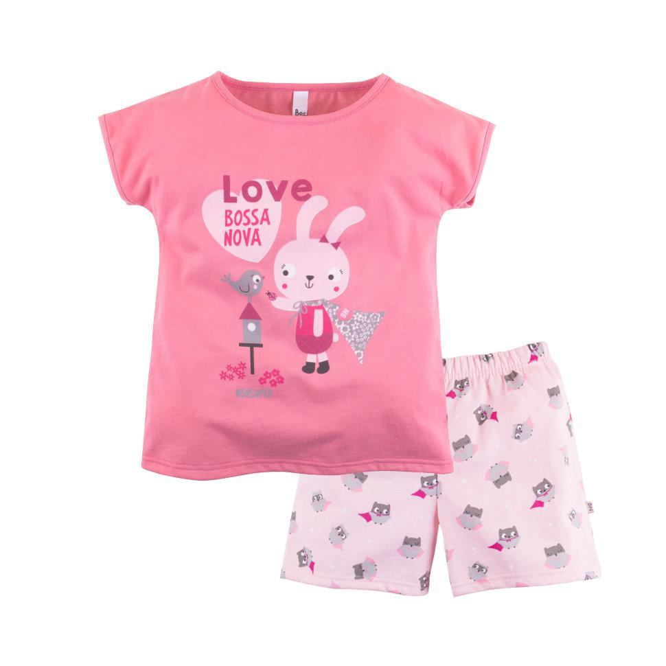 """Летняя пижама для девочек """"СуперГерои"""""""