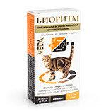 Биоритм  витамины для кошек со вкусом курицы, 48таб., фото 1