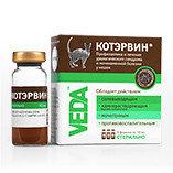 КотЭрвин для профилактики и лечения урологического синдрома и мочекаменной болезни, 3 флакона.