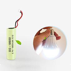 Энергосберегающая лампа с аккумулятором, фото 2