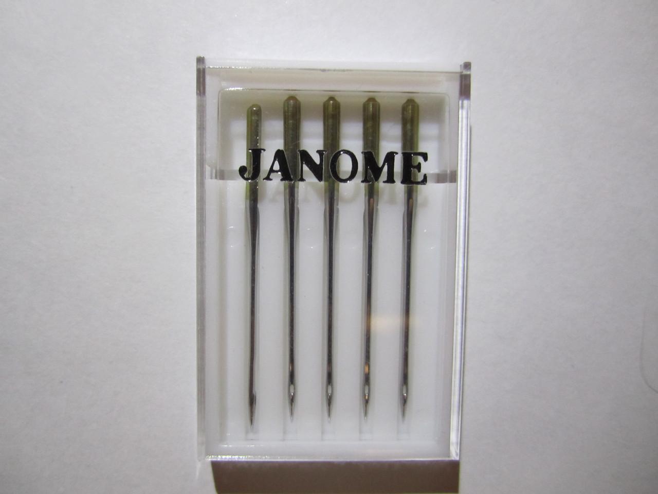 Иголки Janome №14 - 90 номер Универсальные Elna Janome Merrylock