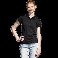 Спортивная рубашка поло, StanPoliWomen, 04EW, Чёрный (20), S/44
