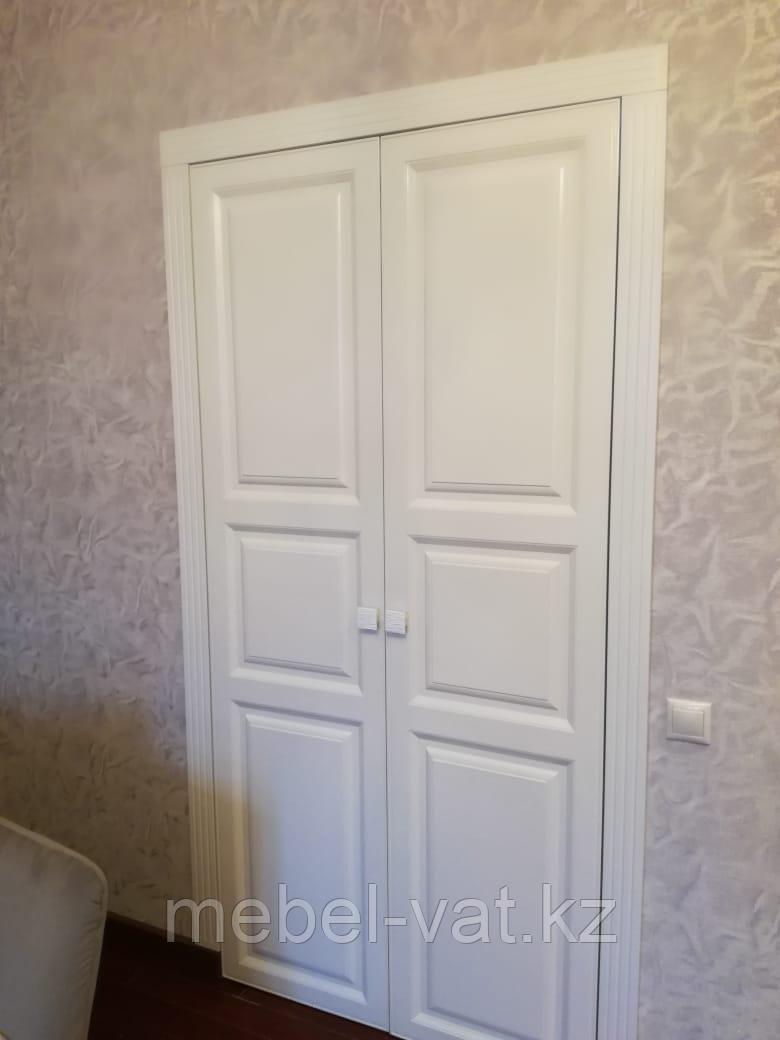 Встроенная гардеробная в спальню