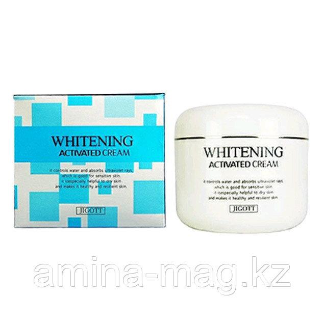 Отбеливающий крем для лица - Jigott Whitening Activated Cream