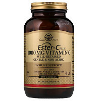 Копия Solgar, Ester-C Plus, 1000 мг витамина С, 180 таблеток.