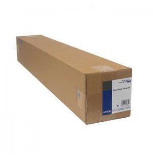 Бумага для плоттера, рулон S041893 EPSON Photo Paper Gloss 250г/м2 24, А1, 610мм x 30.5 м. 76мм втулка