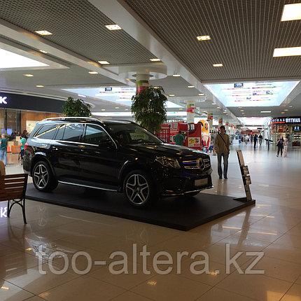 Рекламный подиум для автомобиля в Алматы, фото 2