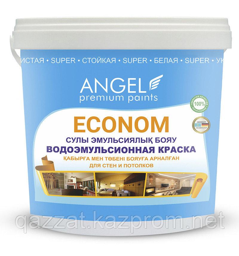 """Водоэмульсионная краска  """"Angel"""" Econom 1 кг"""