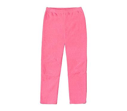 Флисовые брюки для девочек Crockid розовый