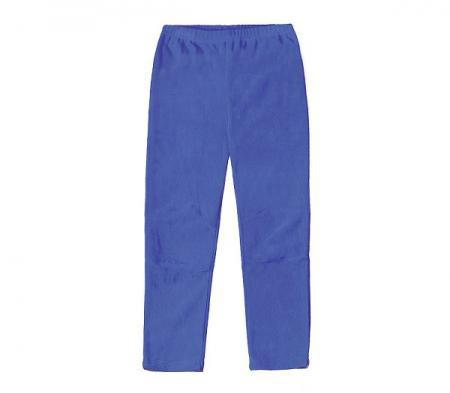 Флисовые брюки детские Crockid синий