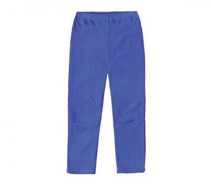 Флисовые брюки для малышей Crockid синий