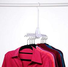 Складная двойная вешалка для одежды, фото 3