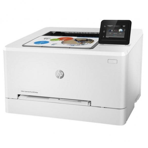 Принтер HP Color LaserJet Pro M254dw (А4, Лазерный, Цветной, USB, Ethernet, Wi-fi) T6B60A