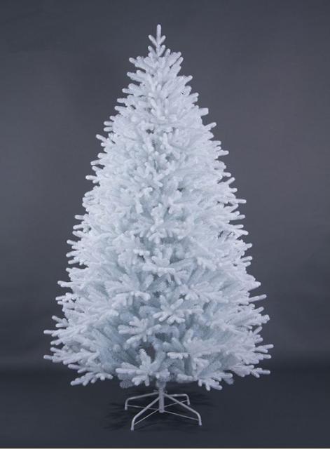 Белые новогодние ёлки
