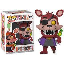 "Funko POP! Games ""Five Nights at Freddy's"" Виниловая Фигурка Рок-звезда Фокси №363"