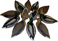 Набор подсадных чучел Кряква (12 штук)