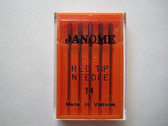 Иглы №14-90 для вышивальных машин Elna Janome Merrylock