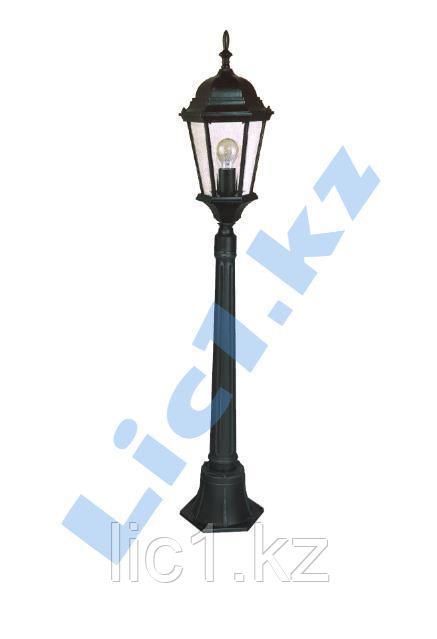 Садово - парковый светильник на средней стойке (120см)  черное золото
