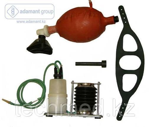 Аппарат искусственного дыхания ручной АДР-1 с отсасывателем, фото 2