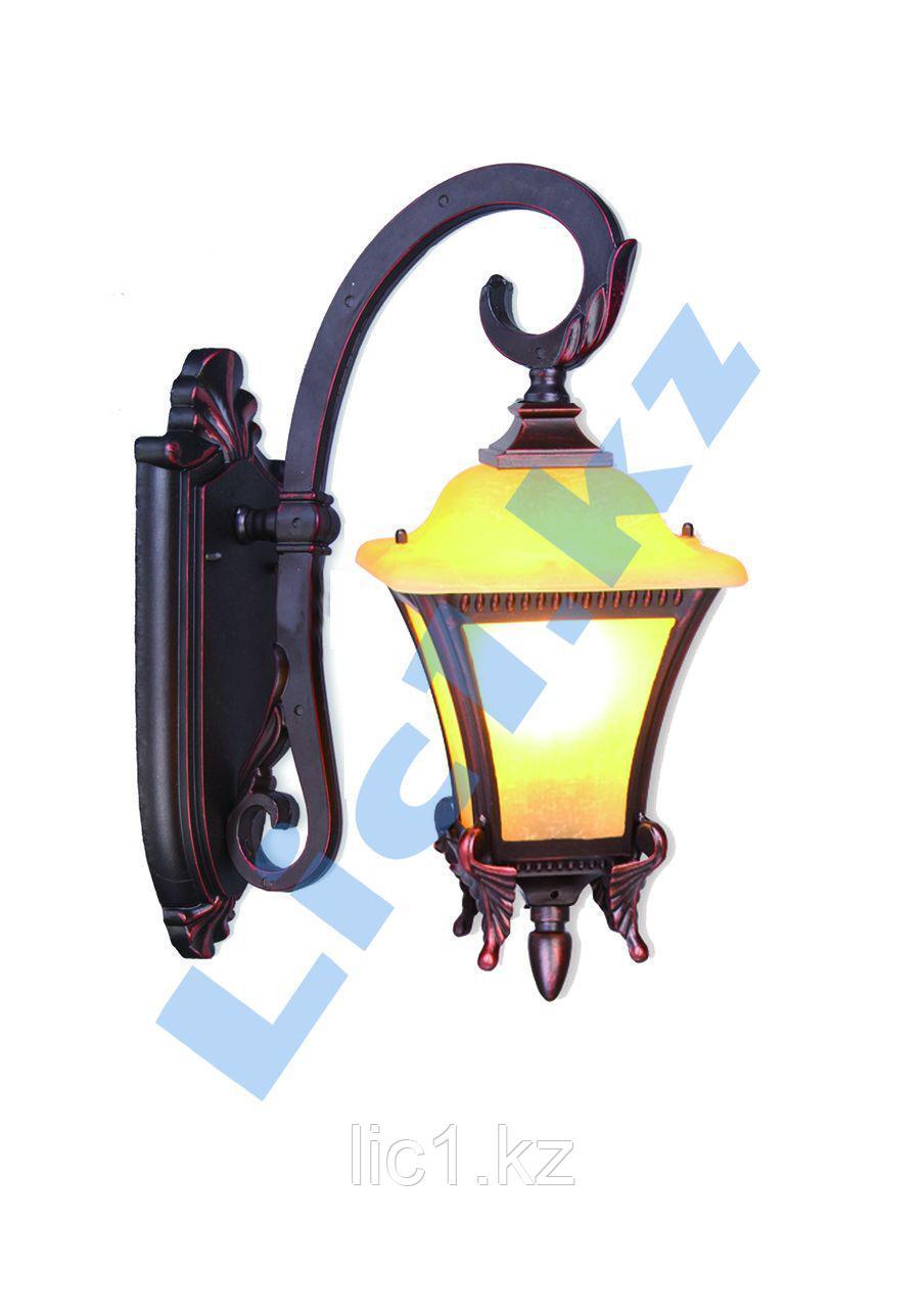 Настенный садово - парковый светильник