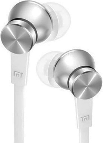Наушники Xiaomi Mi Piston In-Ear Headphones Basic Edition Silver