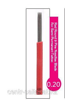 Иглы лезвие (5RS) в Астане для нанесение микроблейдинга, перманентного макияжа (татуажа) бровейR