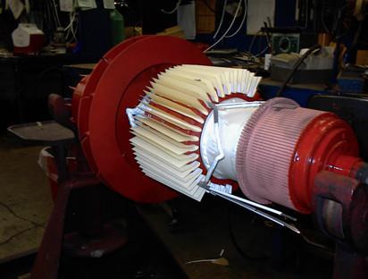 Ремонт электродвигателей постоянного тока.