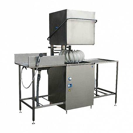 Машина посудомоечная купольная МПУ-700-01 (в комплекте со столом загрузки и столом разгрузки) 1860x800x1400мм
