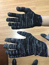Перчатки хб черные, Рабочие перчатки оптом х/б