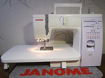 Швейная машинка Janome 415 с расширительным столиком