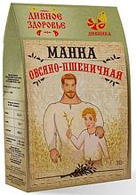 Манка овсяно-пшеничная Дивное Здоровье, 300гр