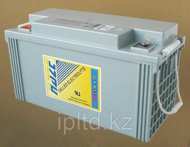 Гелевая аккумуляторная батарея 12В 120 Ач Haze HZY12-120