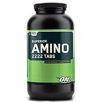 Аминокислоты Optimum Nutrition micronized amino Amino 2222 (320 таб)