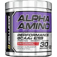 Аминокислота Cellucor, Alpha Amino, 384 гр (Фруктовый пунш)