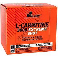 L- Карнитин Olimp L-Carnitine 3000 Extreme Shot (20 ампул по 25мл), фото 1