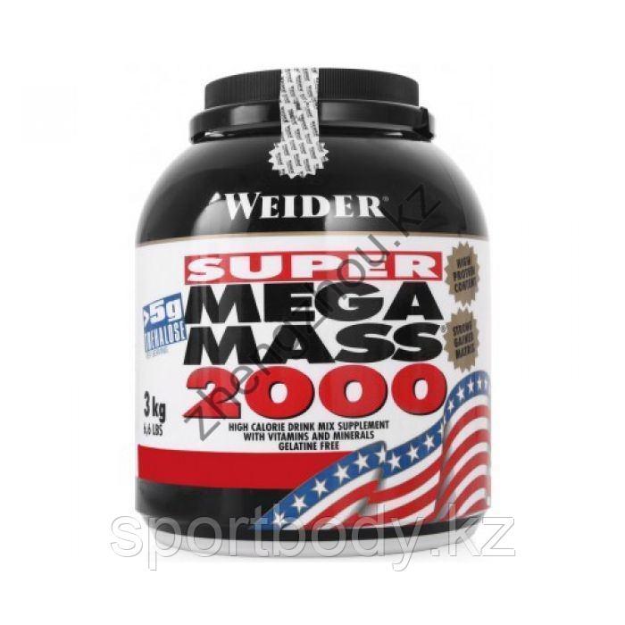 Гейнер Weider Mega Mass 2000 ( 3кг )