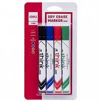 Маркеры для маркерной доски в наборе, Deli