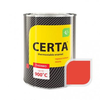 """Эмаль """"Церта""""термостойкая 0,8кг +400С Красный"""