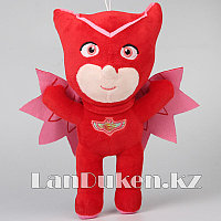 Мягкая игрушка Алетт (Амайя) из мультсериала Герои в масках на липучке 27 см