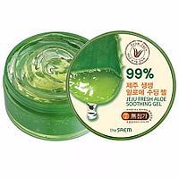 The Saem Jeju Fresh Aloe Soothing Gel 99% - Алоэ-гель универсальный